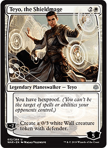 Teyo, the Shieldmage - WAR - U