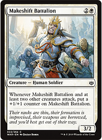 Makeshift Battalion - WAR - C