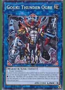 Gouki Thunder Ogre - SP18-EN035 - Starfoil Rare