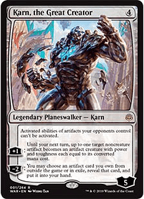 Karn, the Great Creator - WAR - R
