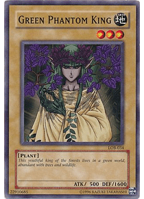 Green Phantom King - LOB-034 - Common (español)