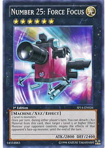 Number 25: Force Focus - SP14-EN026 - Starfoil Rare