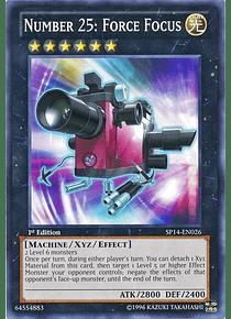 Number 25: Force Focus - SP14-EN026 - Starfoil Rare