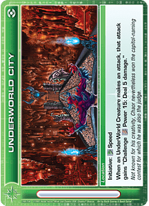 UnderWorld City - Super Rare - Foil