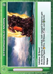 Stronghold Morn - Super Rare - Foil