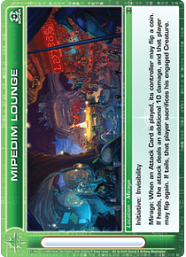 Mipedim Lounge - Super Rare - Foil
