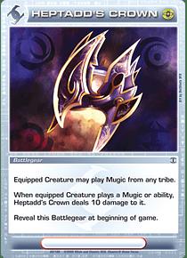 Heptadd's Crown - Rare - Foil