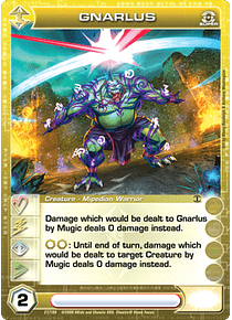 Gnarlus - Super Rare - Foil