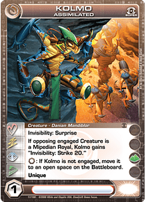 Kolmo, Assimilated - Super Rare - Foil