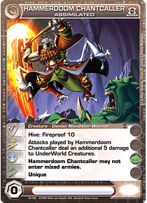 Hammerdoom Chantcaller, Assimilated - Super Rare - Foil