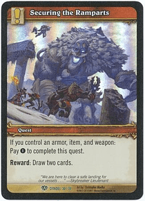 Securing the Ramparts - Citadel 30/30 - Uncommon Foil