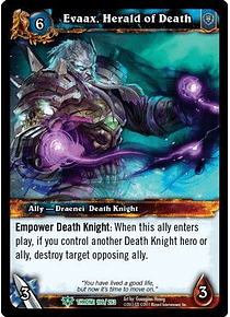 Evaax, Herald of Death - 106/263 - Uncommon