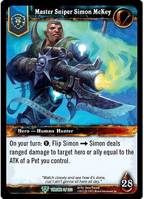 Master Sniper Simon McKey - 5/263 - Uncommon