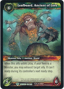 Leafbeard, Ancient of Lore - 187/240 - Uncommon