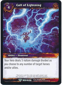 Call of Lightning - 50/202 - Uncommon