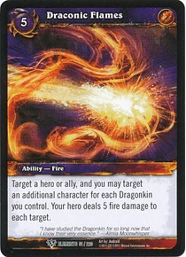 Draconic Flames - 51/220 - Uncommon