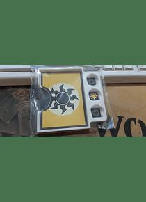 Porta Commander PVC MTG - Blanco