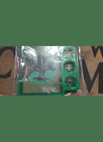 Porta Commander PVC MTG  - Verde