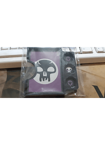 Porta Commander PVC MTG  - Negro