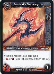 Fandral's Flamescythe - 185/202 - Common