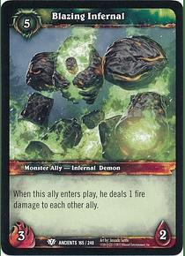 Blazing Infernal - 165/240 - Common