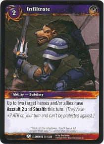 Infiltrate - 73/220 - Common