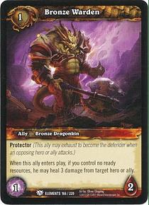 Bronze Warden - 166/220 - Common