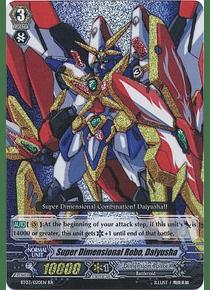 Super Dimensional Robo, Daiyusha - BT03/020EN - Double Rare (RR)