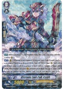 Crimson Lion Cub, Kyrph - BT06/035EN - Rare (R)