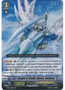 Knight of Godly Speed, Galahad - BT03/018EN - Double Rare (RR)