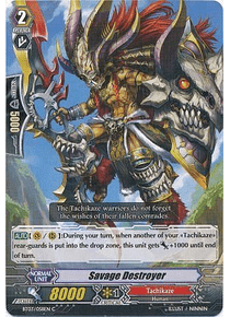 Savage Destroyer - BT03/058EN - Common (C)