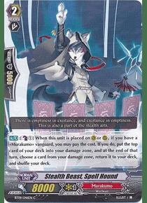 Stealth Beast, Spell Hound - BT09/046EN - Common (C)