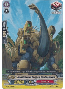 Herbivorous Dragon, Brutosaurus - BT03/060EN - Common (C)