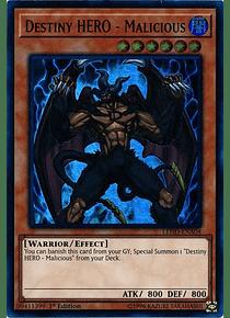 Destiny HERO - Malicious - LEHD-ENA04 - Ultra Rare
