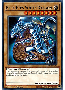 Blue-Eyes White Dragon - SS02-ENA01 - Common