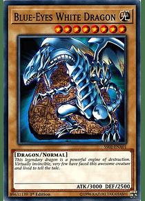 Blue-Eyes White Dragon - SS02-ENA01 - Common