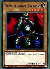 Masaki the Legendary Swordsman - SS02-ENB04 - Common