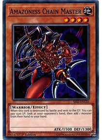 Amazoness Chain Master - SS02-ENC05 - Common