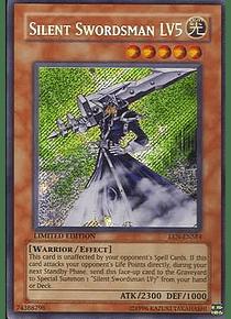 Silent Swordsman LV5 - EEN-ENSE4 - Secret Rare