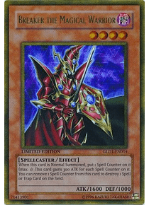 Breaker the Magical Warrior - GLD1-EN014 - Gold Rare