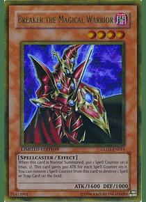 Breaker the Magical Warrior - GLD1-EN014 - Gold Rare