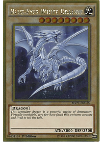 Blue-Eyes White Dragon - MVP1-ENG55 - Gold Rare (español)