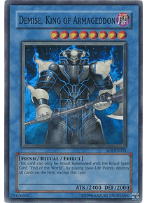 Demise, King of Armageddon - SOI-EN035 - Super Rare