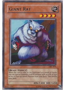 Giant Rat - SRL-079 - Rare