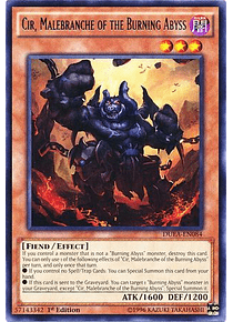Cir, Malebranche of the Burning Abyss - DUEA-EN084 - Rare