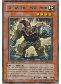 Rockstone Warrior - DP09-EN006 - Rare