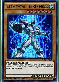 Elemental HERO Neos - DUPO-EN102 - Ultra Rare Limited Edition (español)
