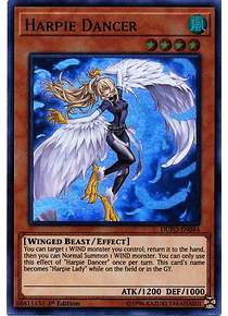 Harpie Dancer - DUPO-EN044 - Ultra Rare