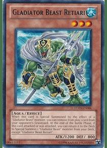 Gladiator Beast Retiari - TU03-EN006 - Rare
