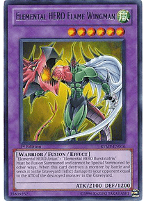 Elemental Hero Flame Wingman - RYMP-EN016 - Rare